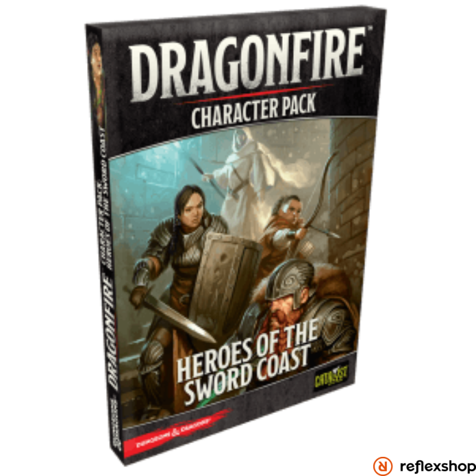 Dragonfire társasjáték Heroes of the Sword Coast kiegészítő