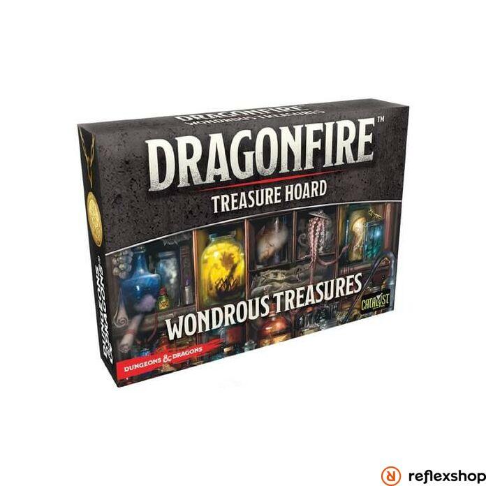 Dragonfire társasjáték Wondrous Treasures kiegészítő, angol