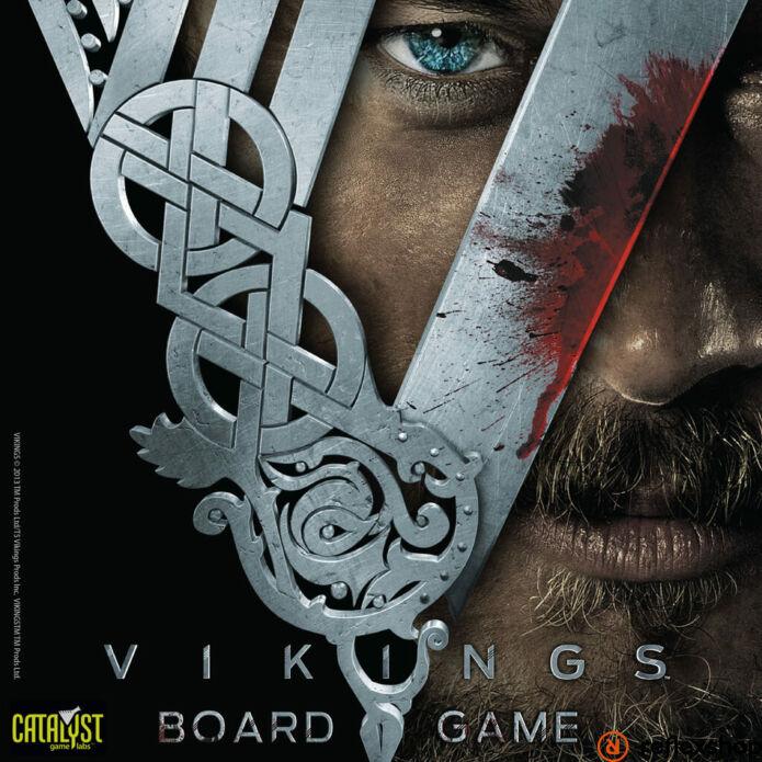 Vikings társasjáték, angol nyelvű