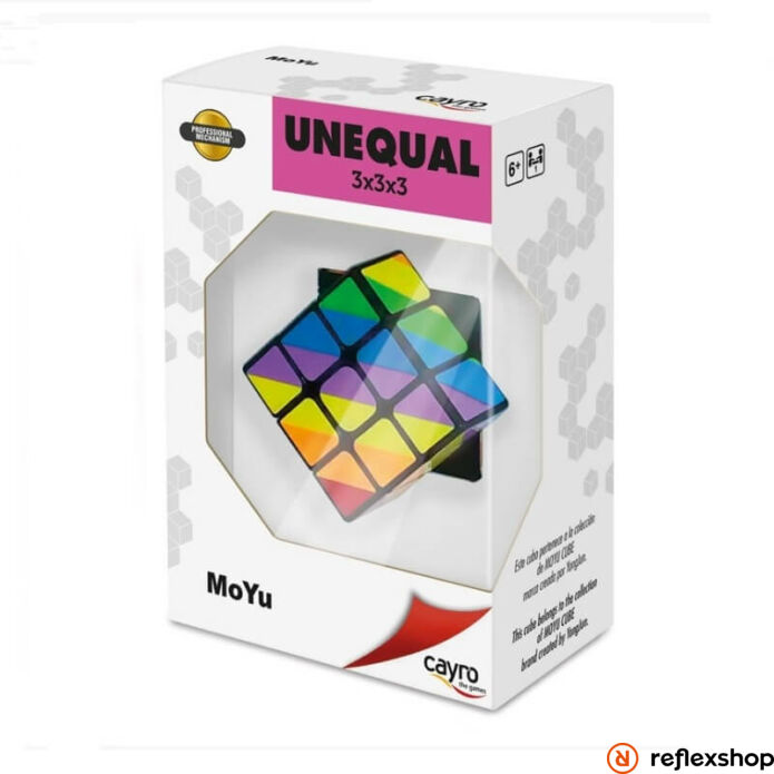 Unequal 3x3 logikai kocka