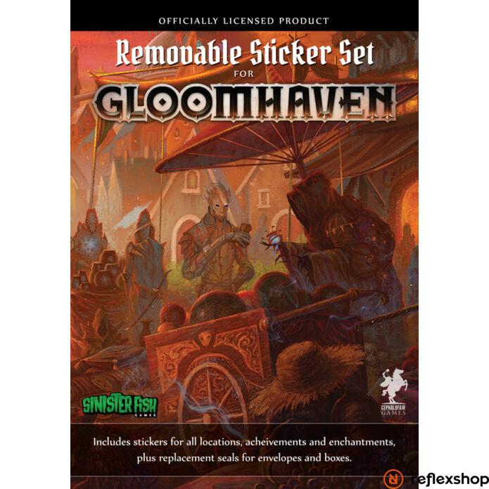 Gloomhaven társasjáték matrica szett