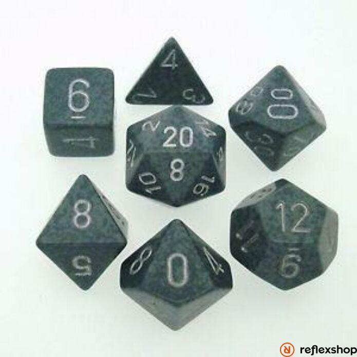 Többoldalú kockaszett (7 kocka), foltos, hi tech