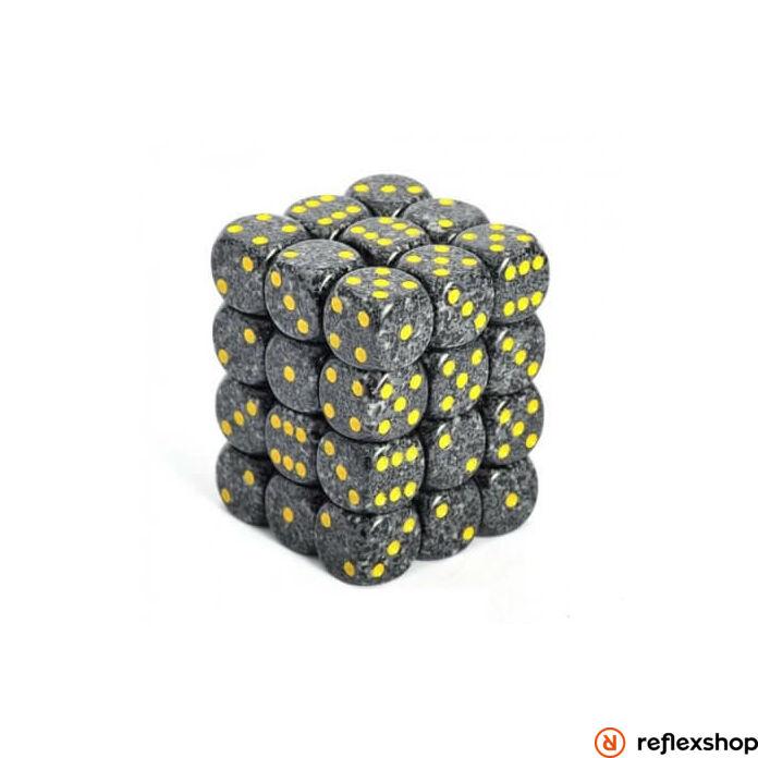 d6 kockablokk, kis kockákkal (36 kocka), foltos, urban-camo