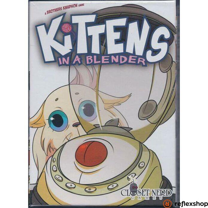 Kittens in a Blender társasjáték, angol nyelvű