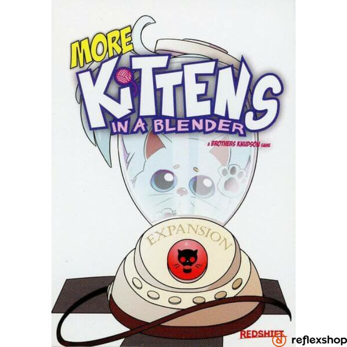 Kittens in a Blender társasjáték More Kittens kiegészítő, angol