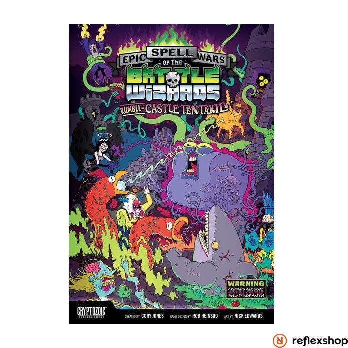 Epic Spell Wars of the Battle Wizards: Rumble at Castle Tentakill társasjáték, angol nyelvű