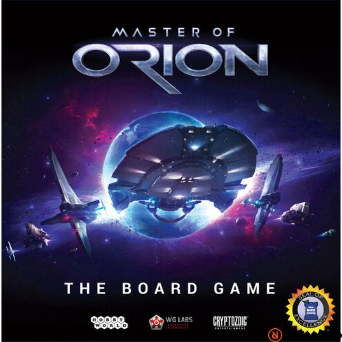 Master of Orion társasjáték, angol nyelvű