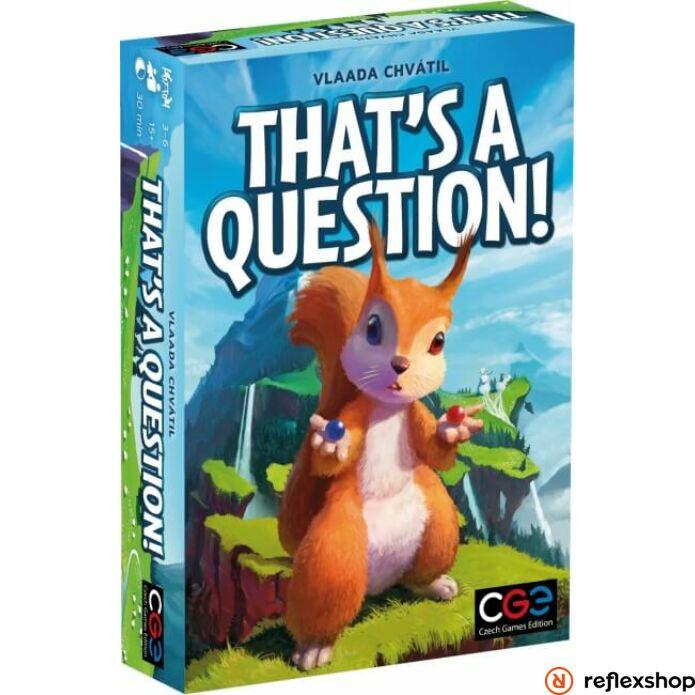 That's a question társasjáték