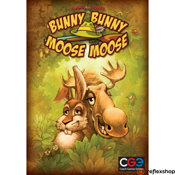 Czech Games Bunny bunny moose moose angol nyelvű társasjáték