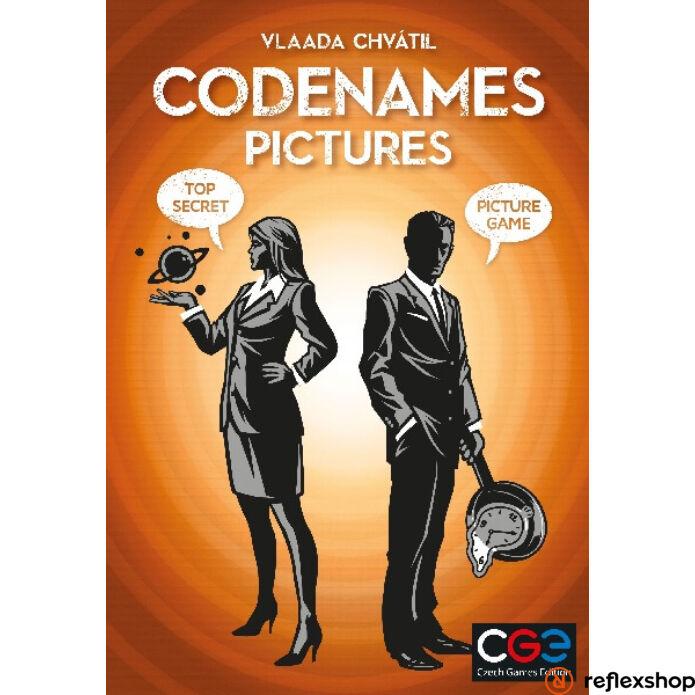 Czech Games - Codenames Pictures angol nyelv? társasjáték