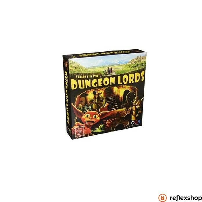 Czech Games Dungeon Lords társasjáték