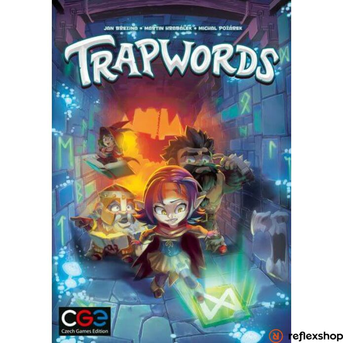 Trapwords társasjáték, angol nyelvű