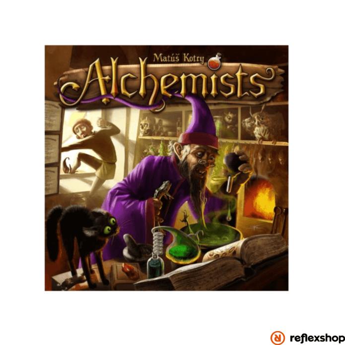 Czech Games Alchemist társasjáték angol nyelv?