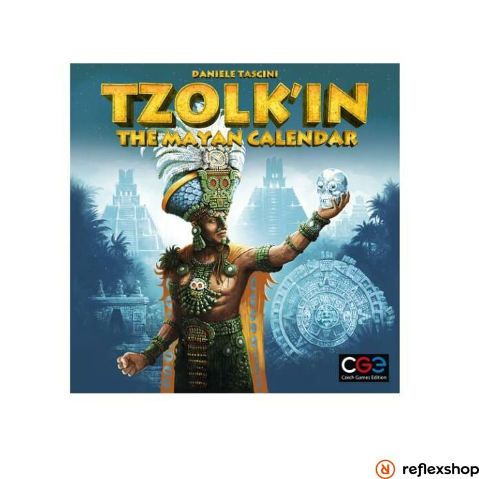 Czech Games Tzolk'in társasjáték angol nyelv?