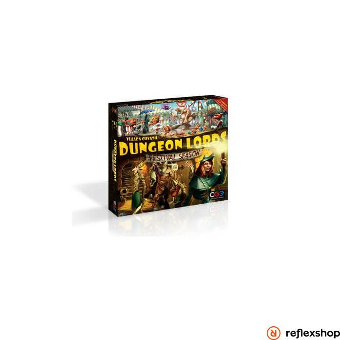 Czech Games Dungeon Lords: Festival Season angol nyelvű kiegészítő