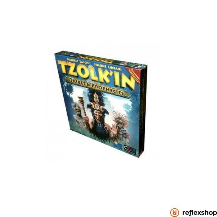 Czech Games Tzolk'In Tribes&Prophecies angol nyelvű kiegészítő