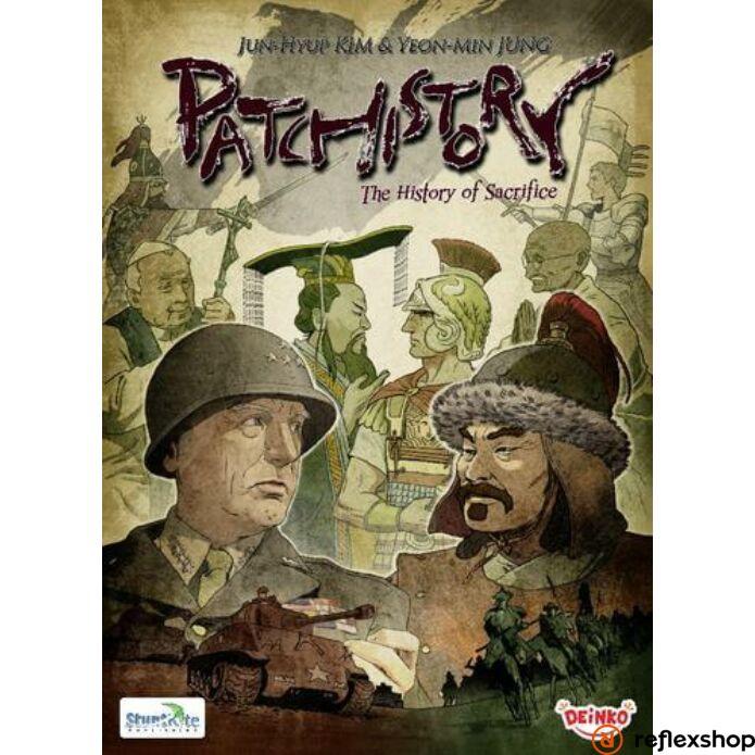 Patchistory angol nyelvű társasjáték