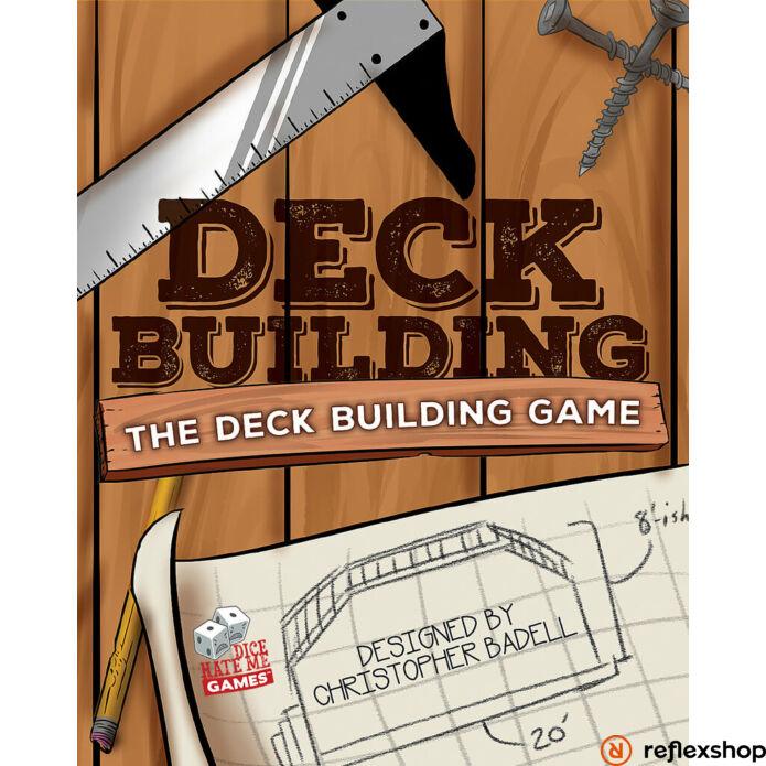 Deck Building pakliépítő társasjáték, angol nyelvű