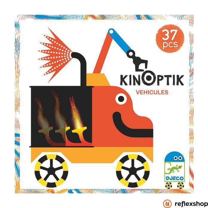 Djeco Kinoptik járművek kirakó