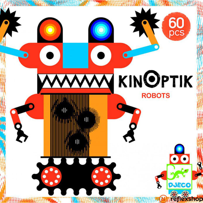 Djeco Kinoptik robotok kirakó