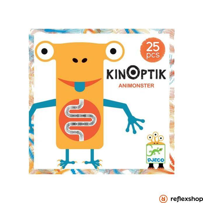 Djeco - Optikai puzzle - Kinoptik Animonster - 26 dbos