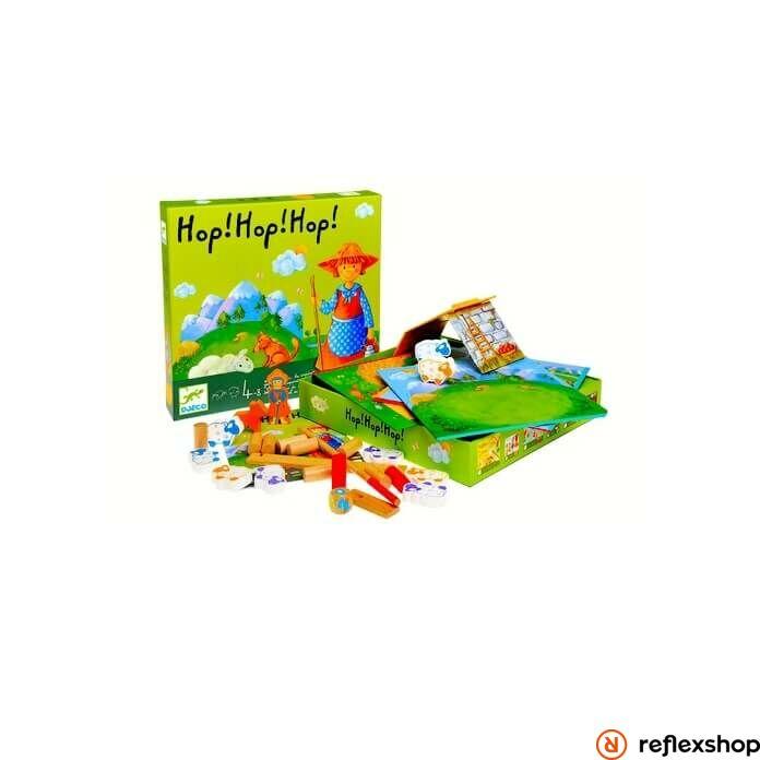 Djeco Hop! Hop! Hop! társasjáték