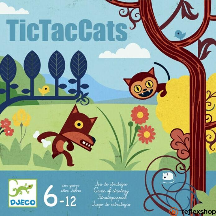 Djeco TicTacCats társasjáték