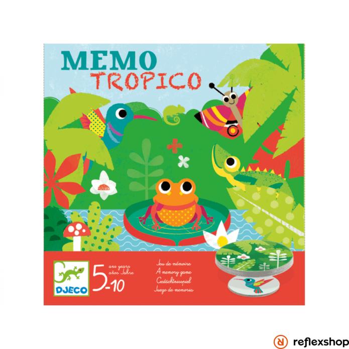 Djeco Mémo Tropico társasjáték