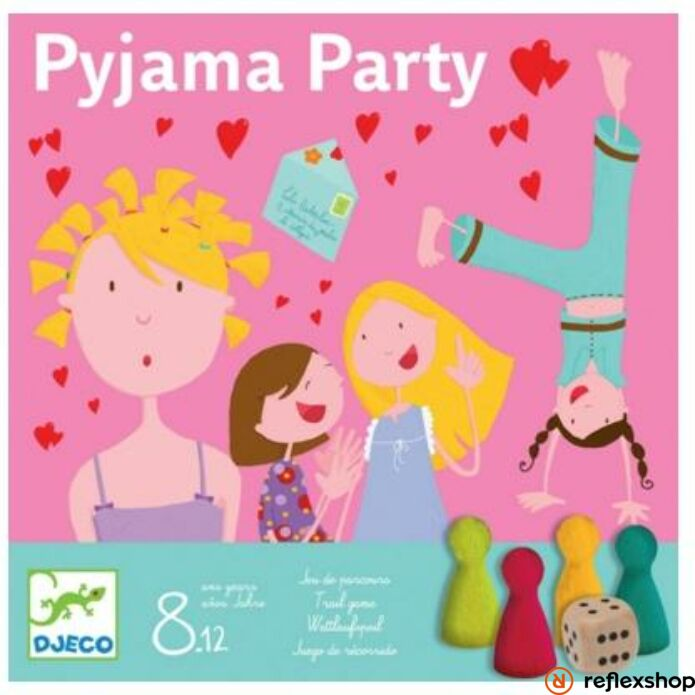 Djeco Pizsama Party társasjáték