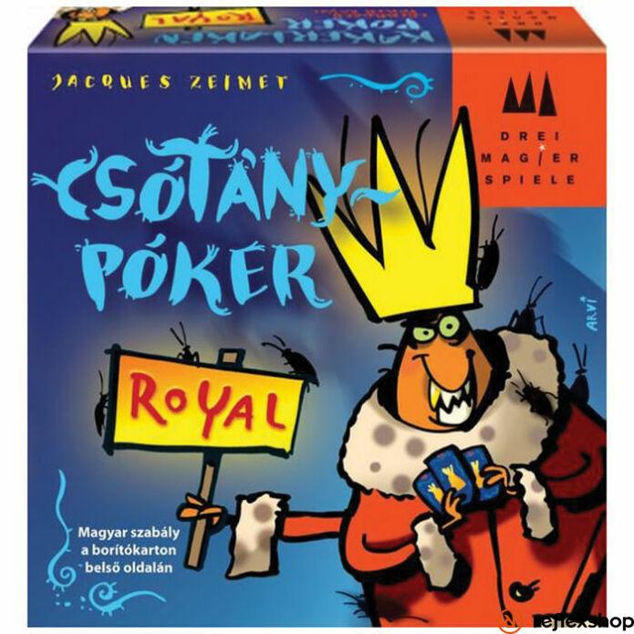 Drei Magier Spiele Csótánypóker - Royal