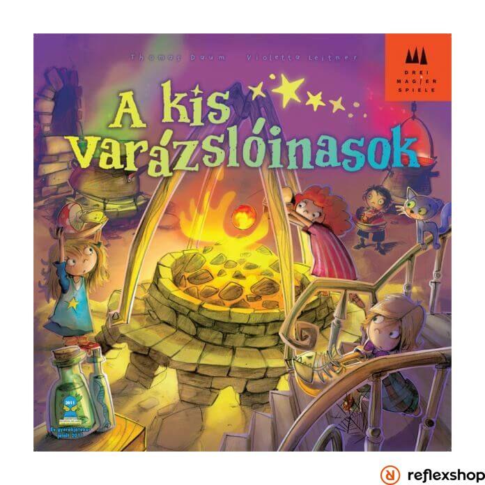 Drei Magier Spiele Kis varázslóinasok társasjáték