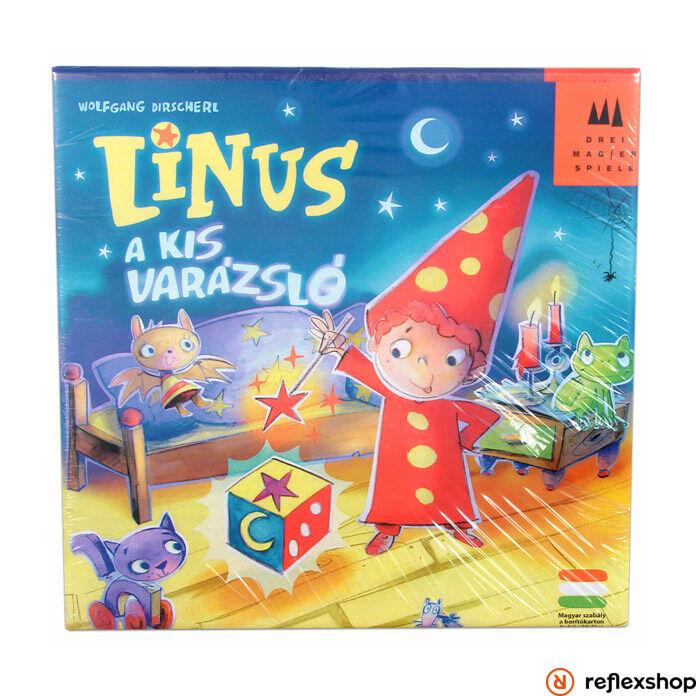 Drei Magier Spiele Linus - A kis varázsló társasjáték