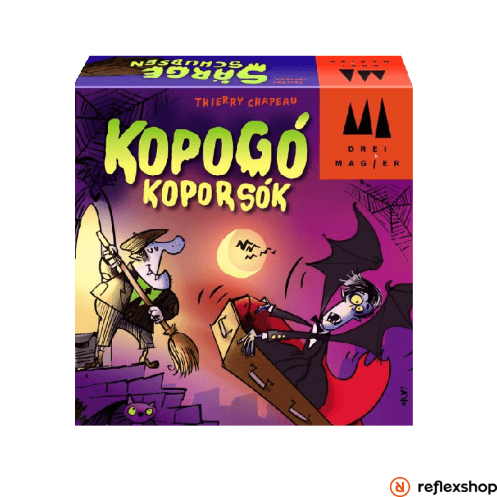 Drei Magier Spiele Kopogó koporsók társasjáték