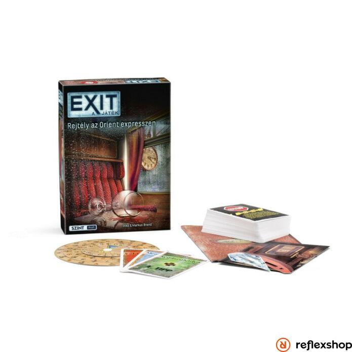 Exit 7. Rejtély az Orient Expressen szabaduló társasjáték