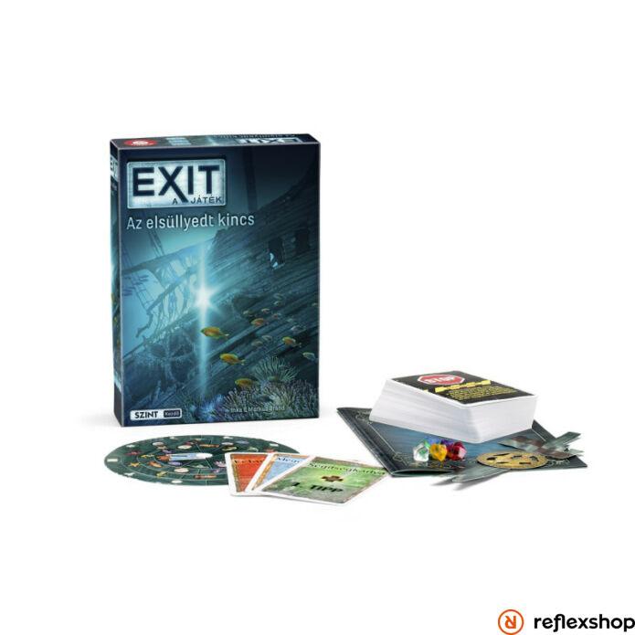 Exit 8. Az elsüllyedt kincs szabaduló társasjáték