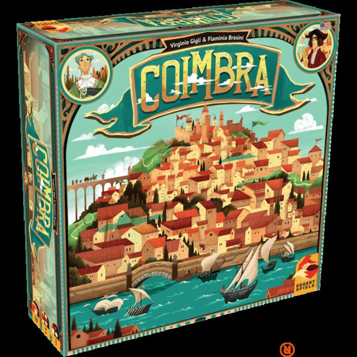 Coimbra angol nyelvű társasjáték