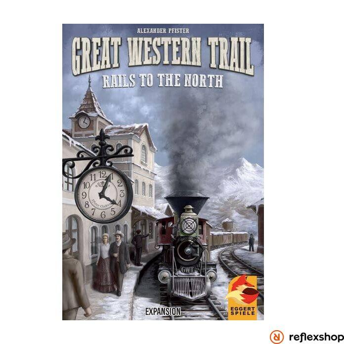 Great Western Trail társasjáték Rails to the North kiegészítő, angol nyelvű