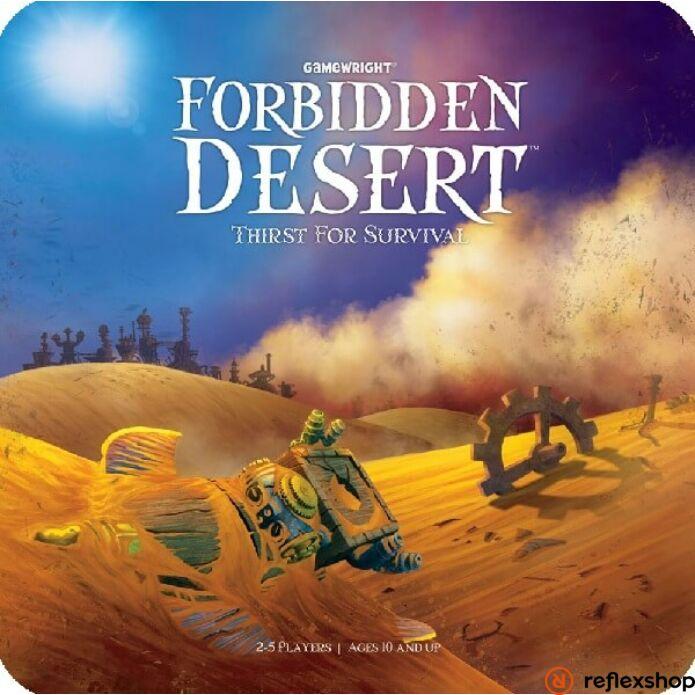 Forbidden Desert angol nyelv? társasjáték