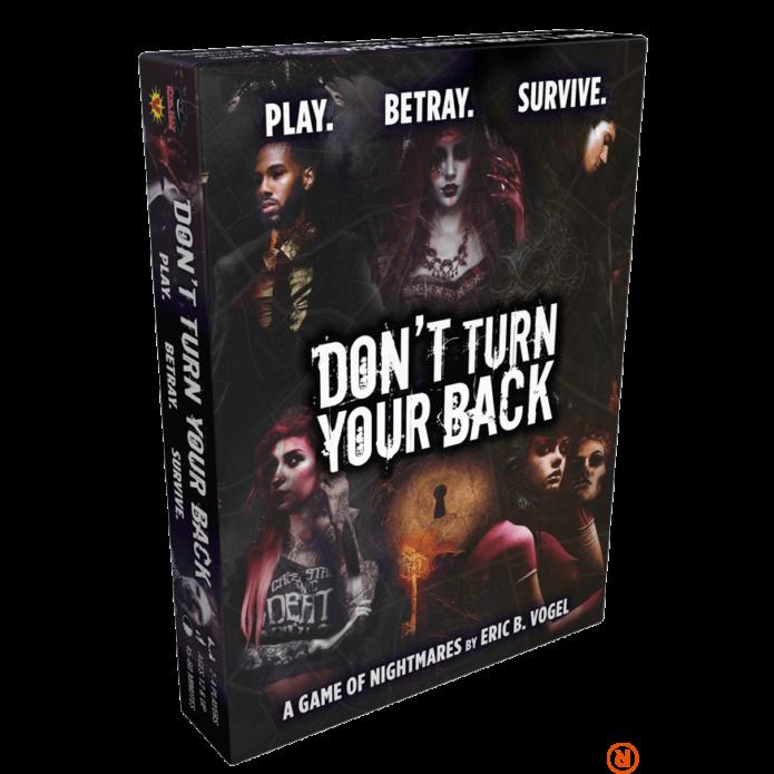 Don't Turn Your Back angol nyelvű társasjáték