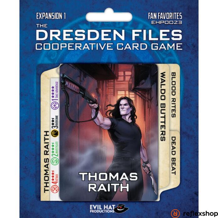Dresden Files kártyajáték Fan Favorites kiegészítő, angol nyelvű