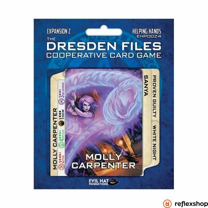 Dresden Files kártyajáték Helping Hands kiegészítő, angol nyelvű