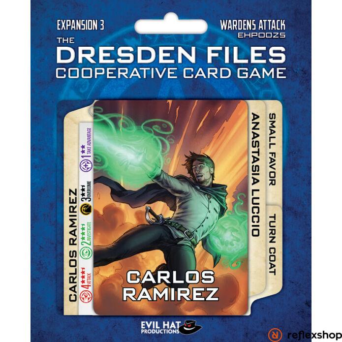 Dresden Files kártyajáték Wardens Attack kiegészítő, angol nyelvű