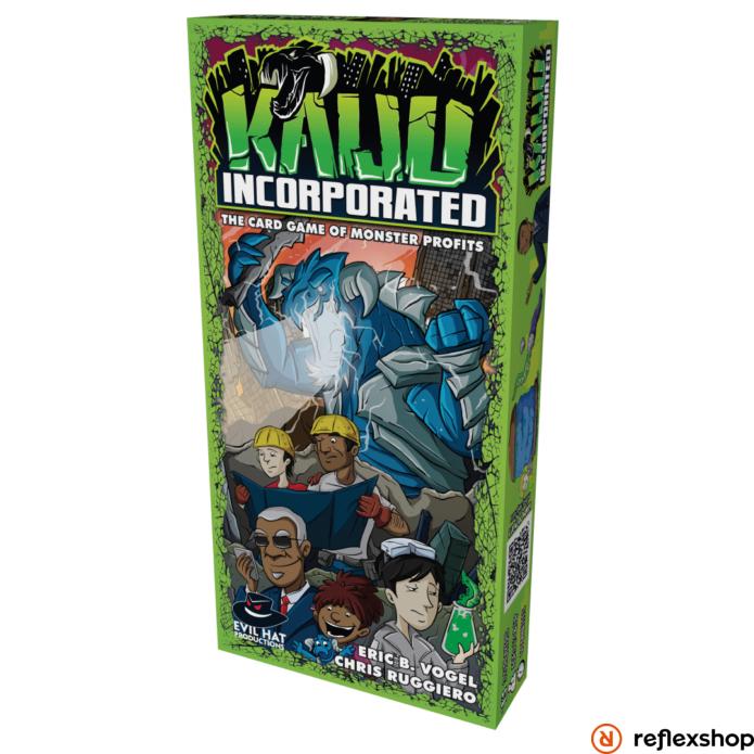 Kaiju Incorporated társasjáték, angol nyelvű