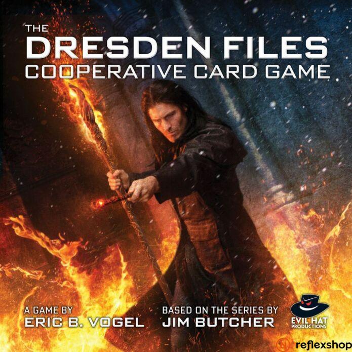 Dresden Files Cooperative Card Game angol nyelvű társasjáték
