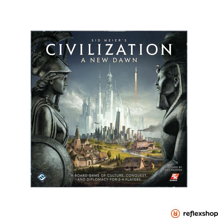 Civilization New Dawn társasjáték, angol nyelvű