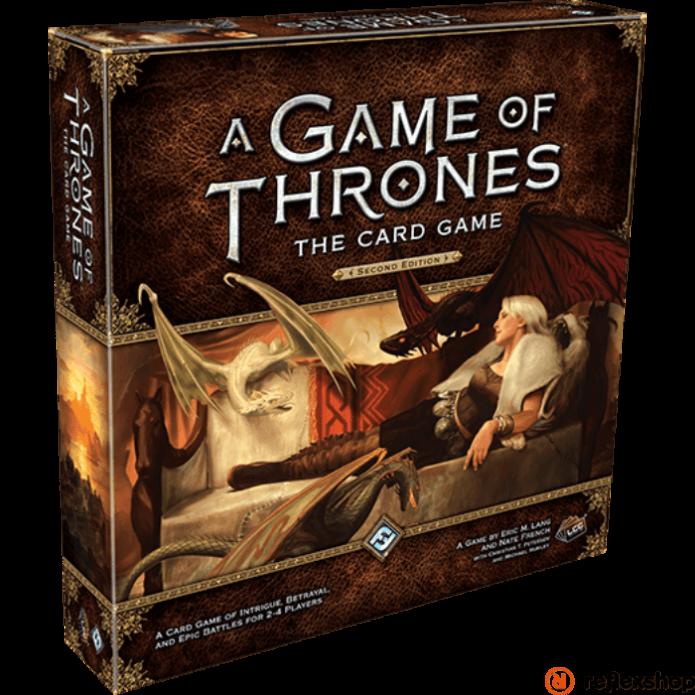 Trónok harca LCG kártyajáték 2nd edition, angol nyelvű