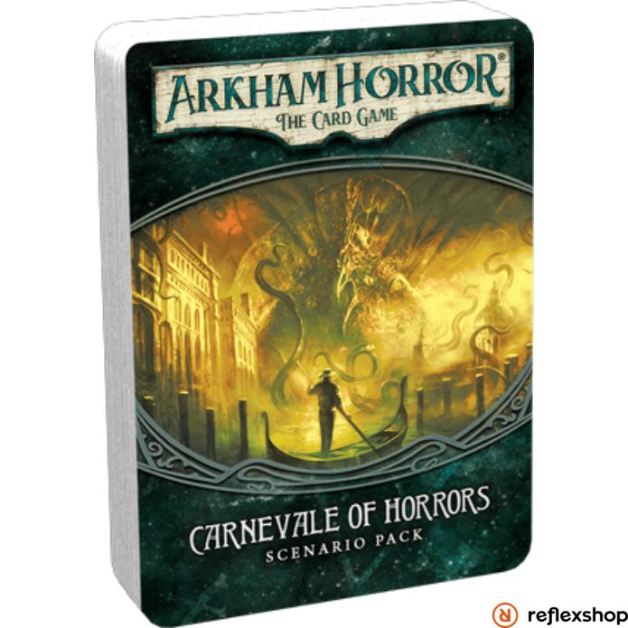 Arkham Horror kártyajáték Carnevale of Horrors angol nyelvű kiegészítő