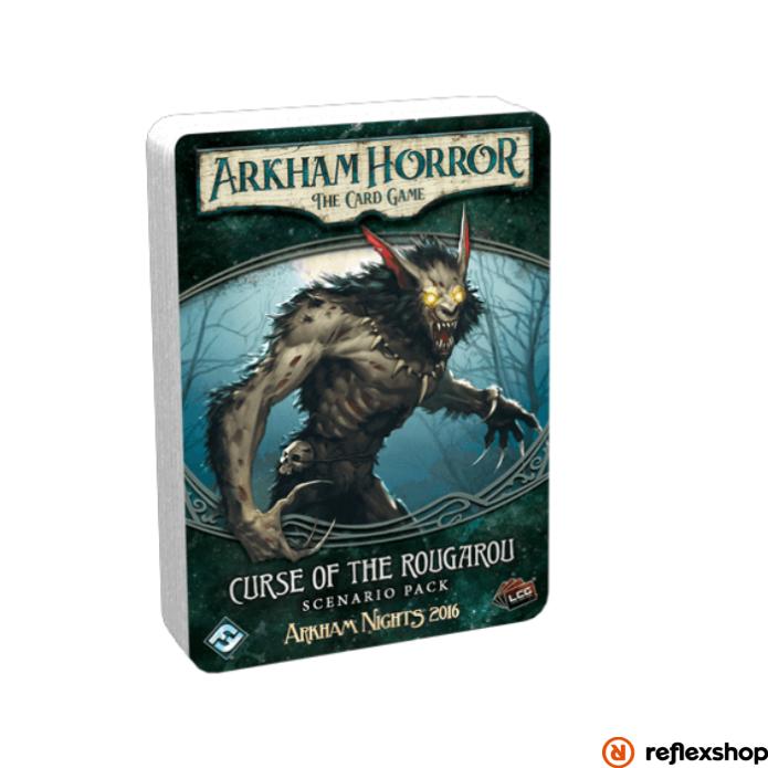 Arkham Horror kártyajáték Curse on Rougarou angol nyelvű kiegészítő