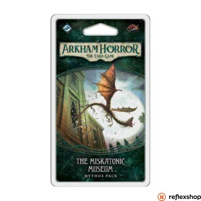 Arkham Horror kártyajáték Miskatonic Museum angol nyelvű kiegészítő