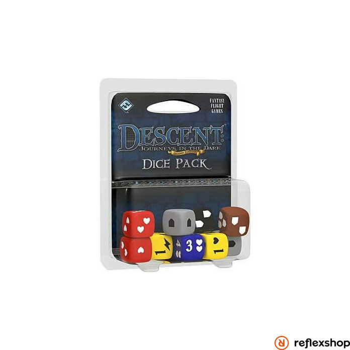 Descent Dice Pack angol nyelvű kiegészítő, második kiadás